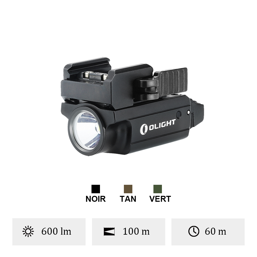 Olight PL Mini 2 Valkyrie - Lampe Tactique Rechargeable