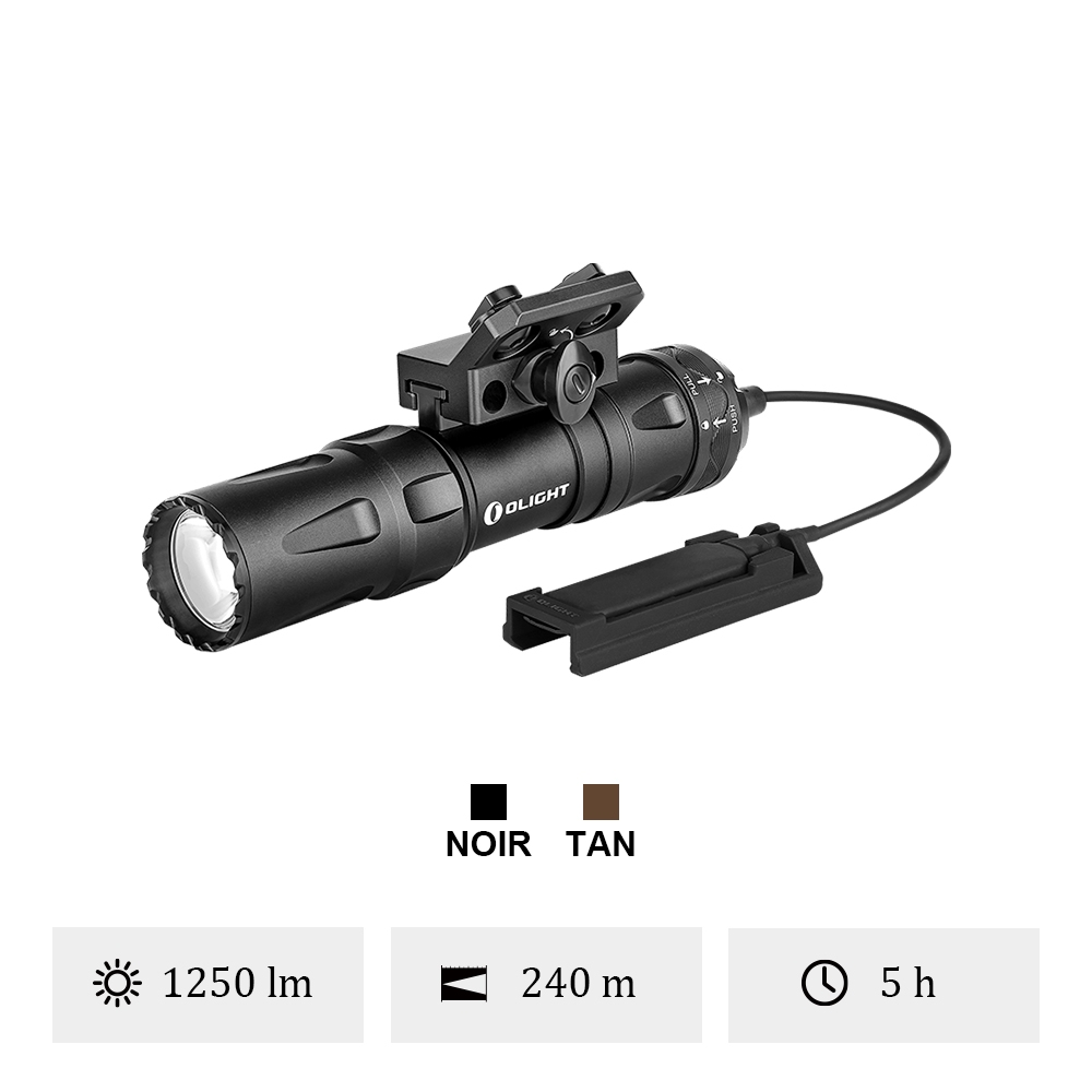 Olight Odin Mini - Lampe Tactique Montée Sur M-LOK
