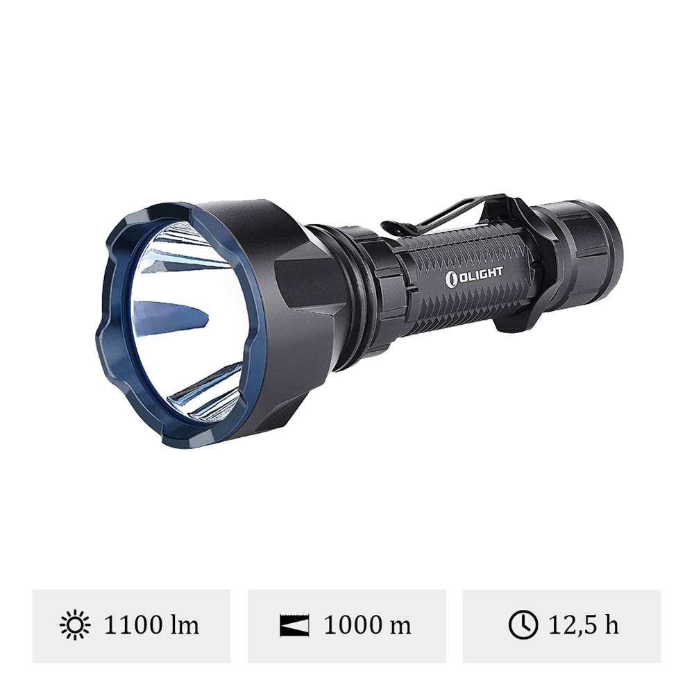 Olight Warrior X Turbo - Lampe Torche LED Puissante Militaire