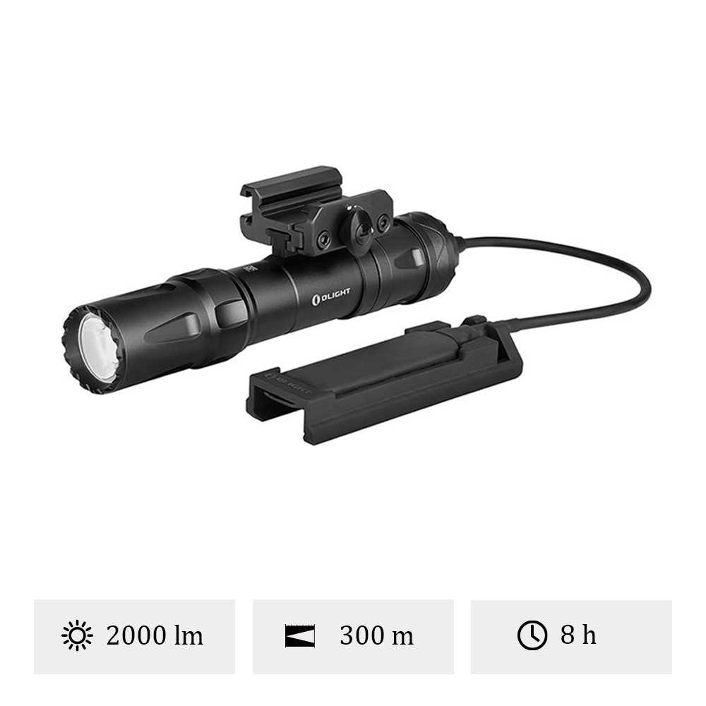 Olight Odin - Lampe Tactique Militaire Picatinny Puissante