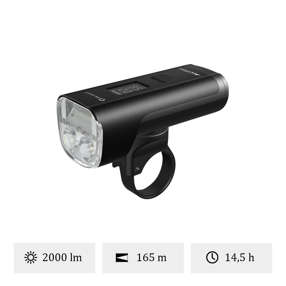 Olight ALLTY 2000 - Lampe Avant Vélo 2000 Lumens