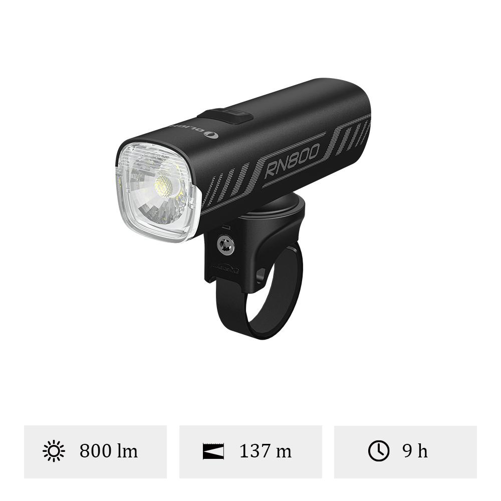 Olight RN 800 - Éclairage Avant Vélo Puissante 800 Lumens