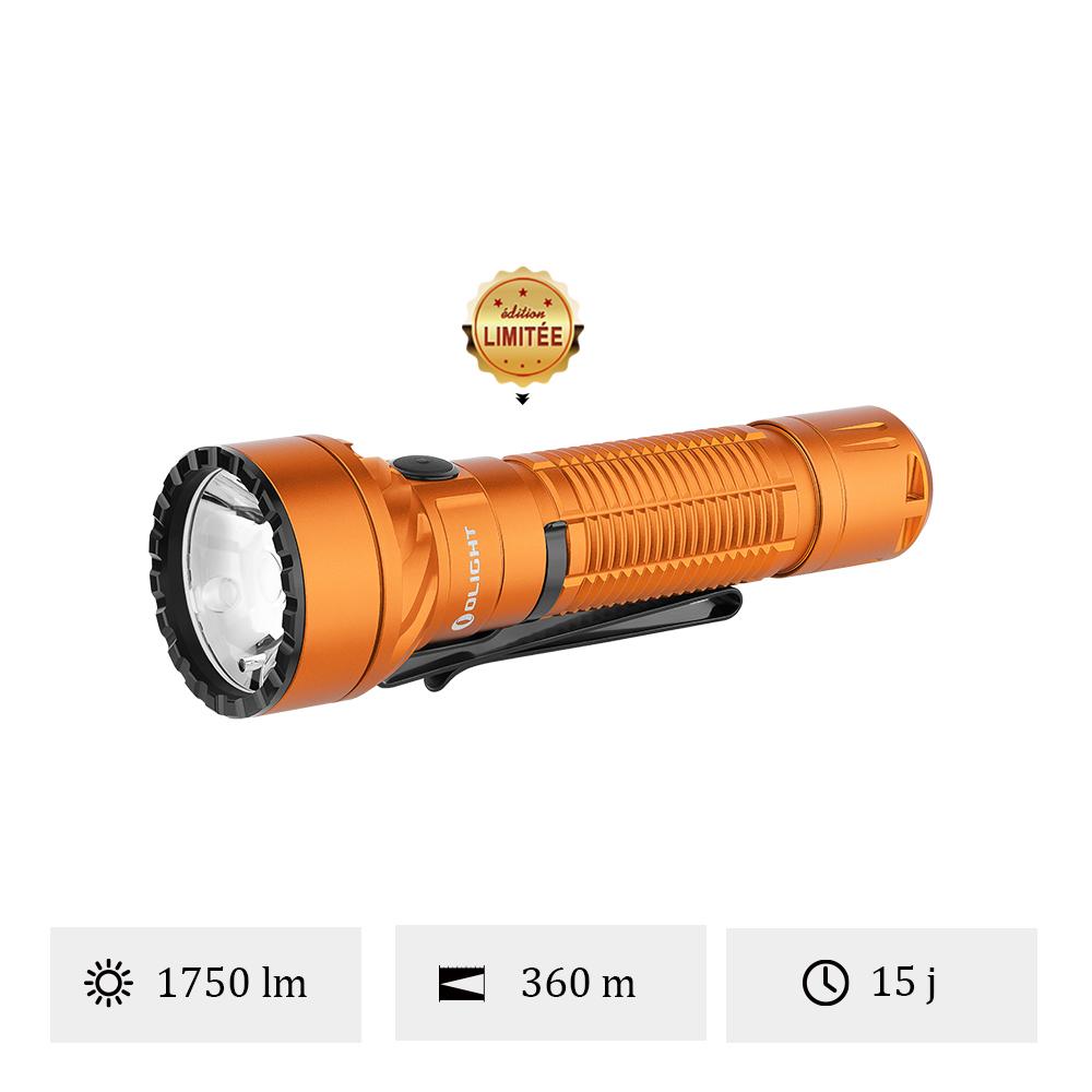Olight Freyr Orange - Lampe Torche Avec Faisceau Multicolore