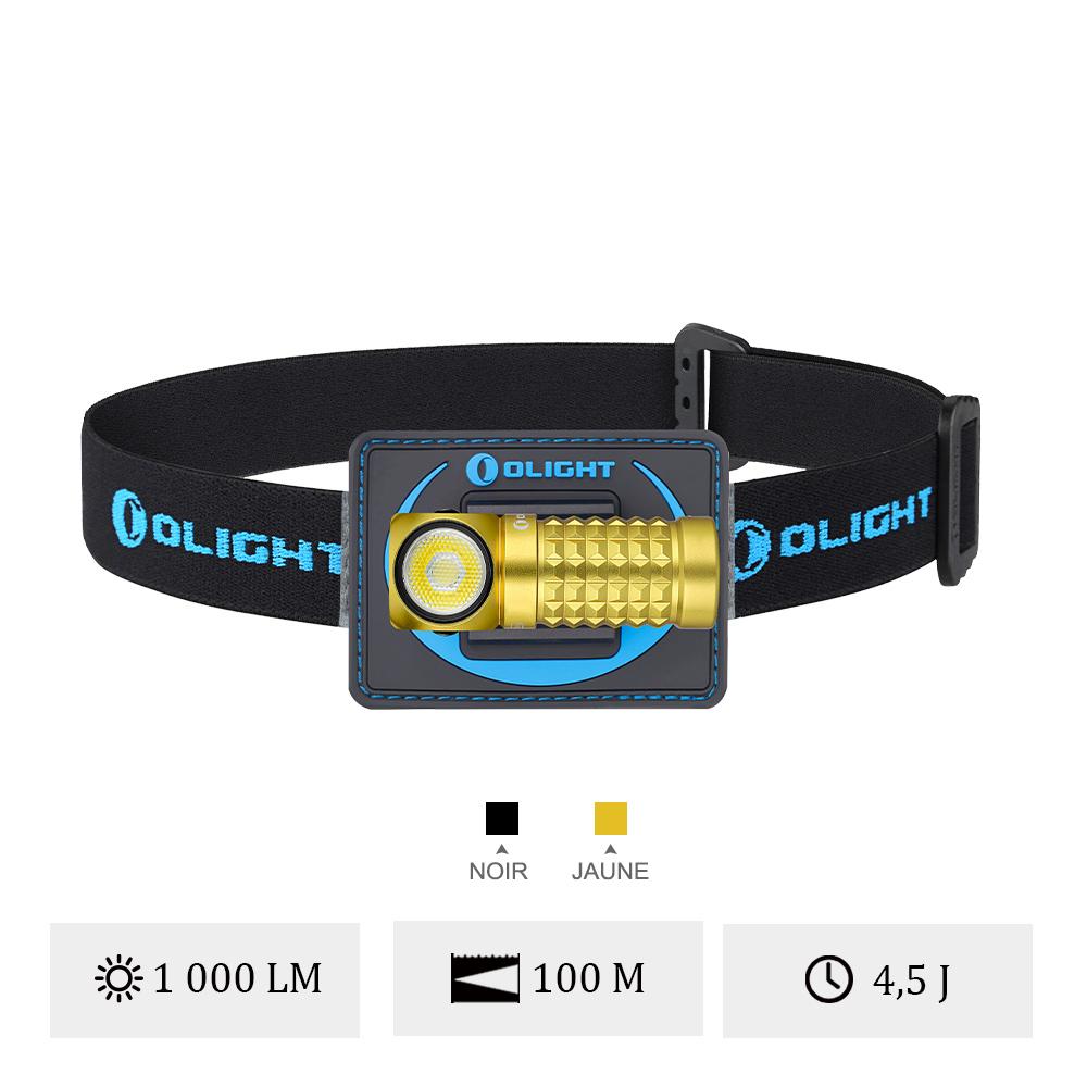 Olight Perun Mini - Lampe Frontale Ultra Légère Avec Bandeau