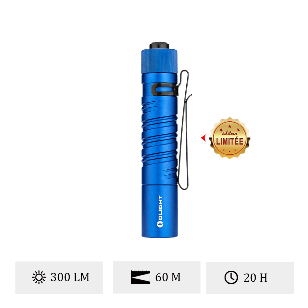 Olight i5T EOS Bleu - Petite Lampe De Poche EDC