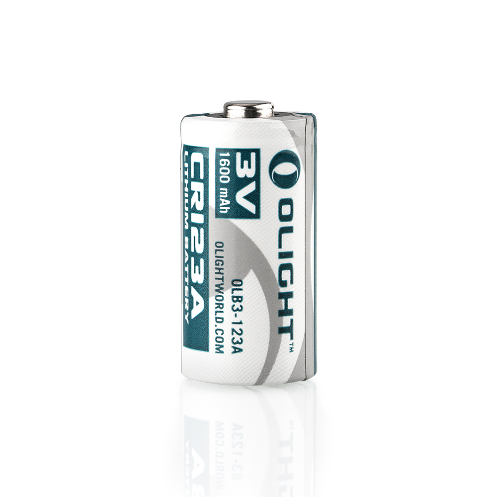 Olight Batterie CR123A Non-rechargeable 1600mAh