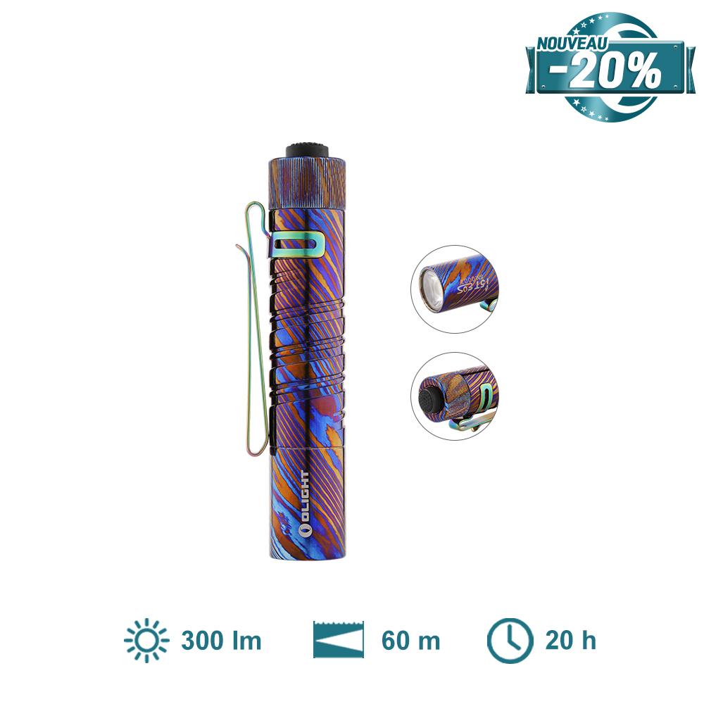 Olight i5T EOS Damas Titane - Petite Lampe De Poche EDC