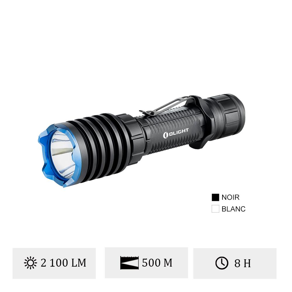 Olight Warrior X Pro - Lampe Torche LED Tactique Rechargeable 2100 Lumens