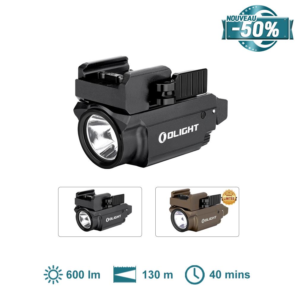 Olight Baldr RL Mini - Lampe Rail Tactique Laser Rouge