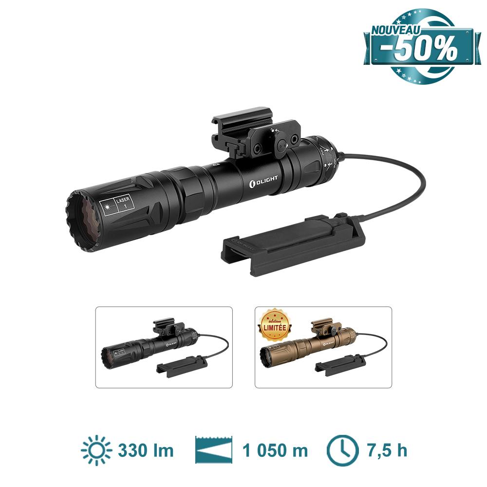 Olight Odin Turbo - Lampe Torche Laser LEP Longue Portée 1050 Mètres