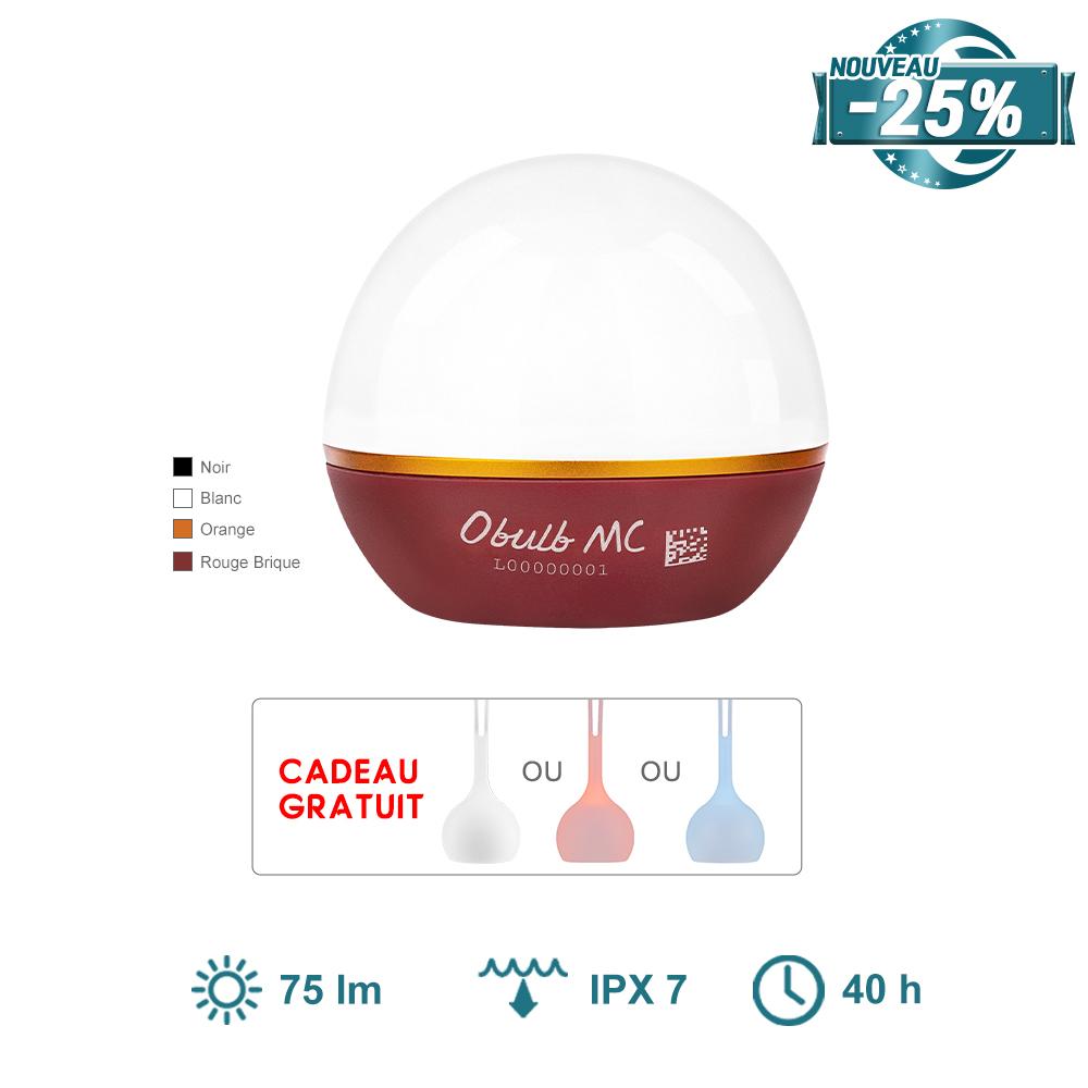 Olight Obulb MC - Mini Lampe Sphérique Rechargeable Avec Lumières Colorées