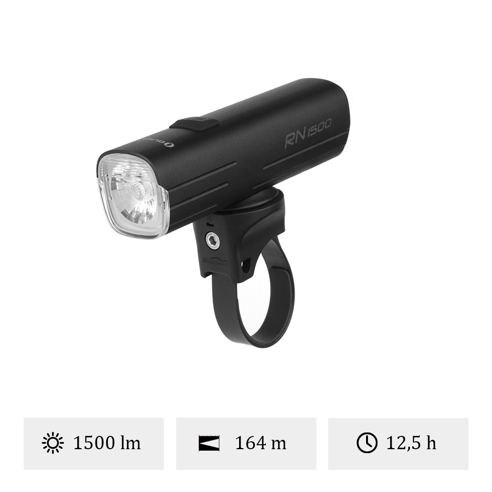 Olight RN1500 - Éclairage Avant Vélo VTT 1500 Lumens