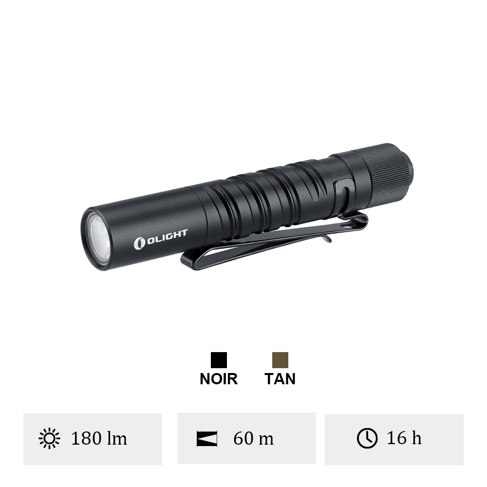 Olight i3T EOS - Lampe De Poche 180 Lumens