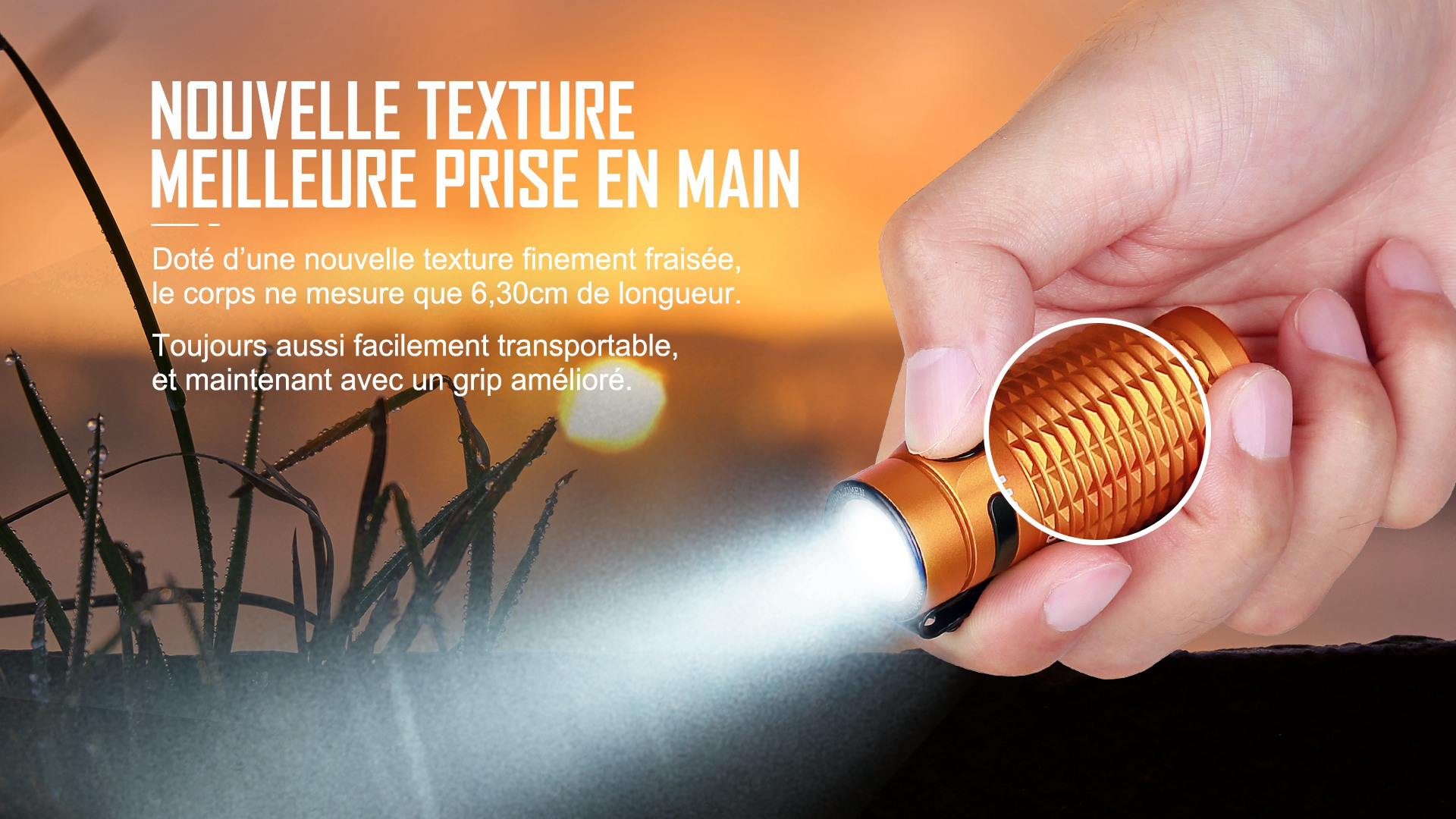 Nouveau design, texture fine, antidérapant Baton 3