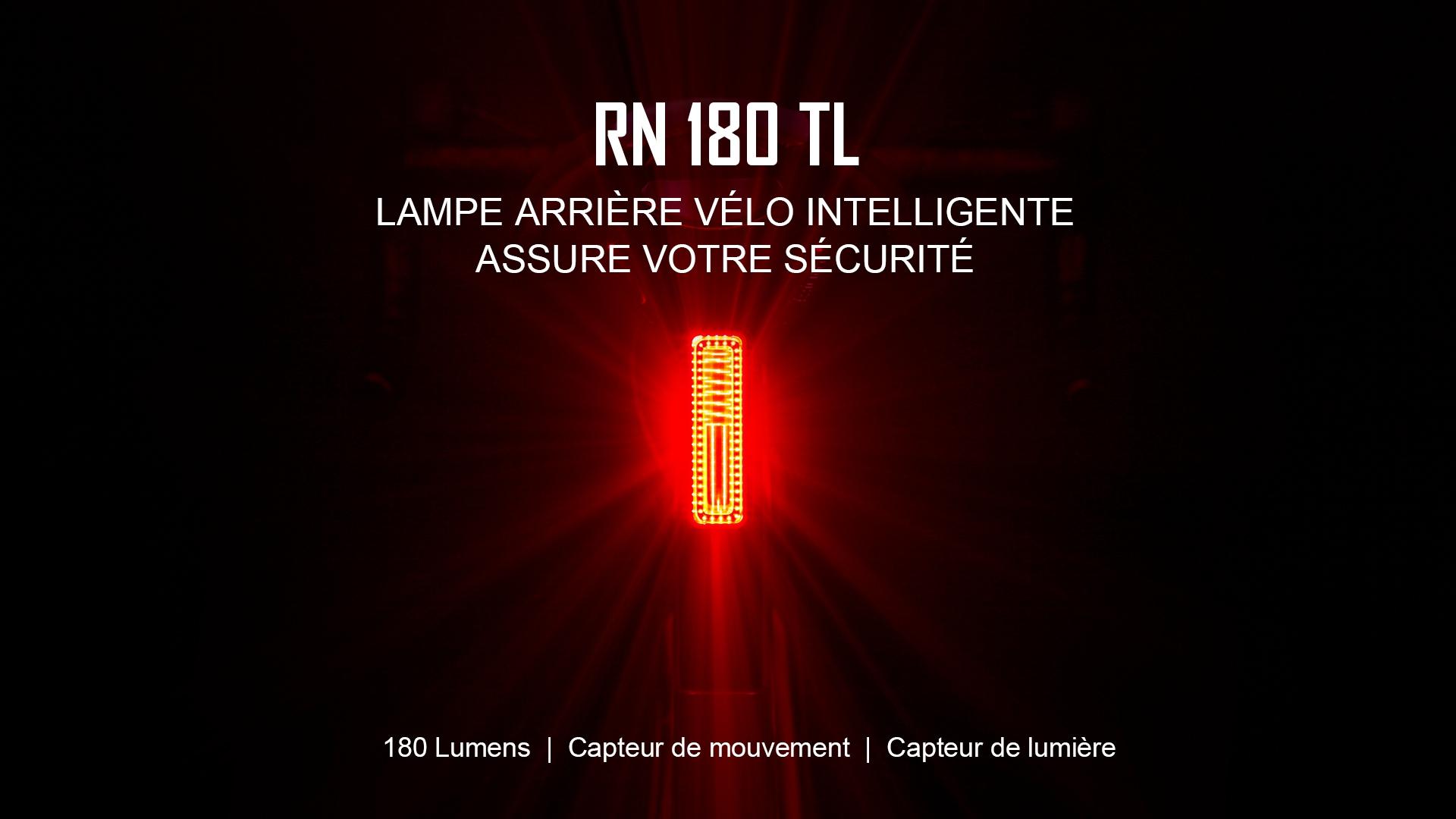 RN 180 TL lampe arrière vélo intelligente