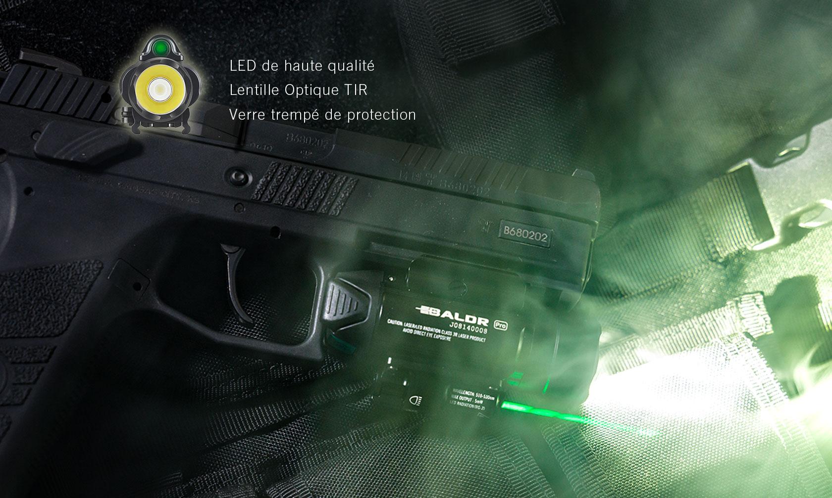 Baldr Pro lampe ultra puissante militaire 1350 lumens