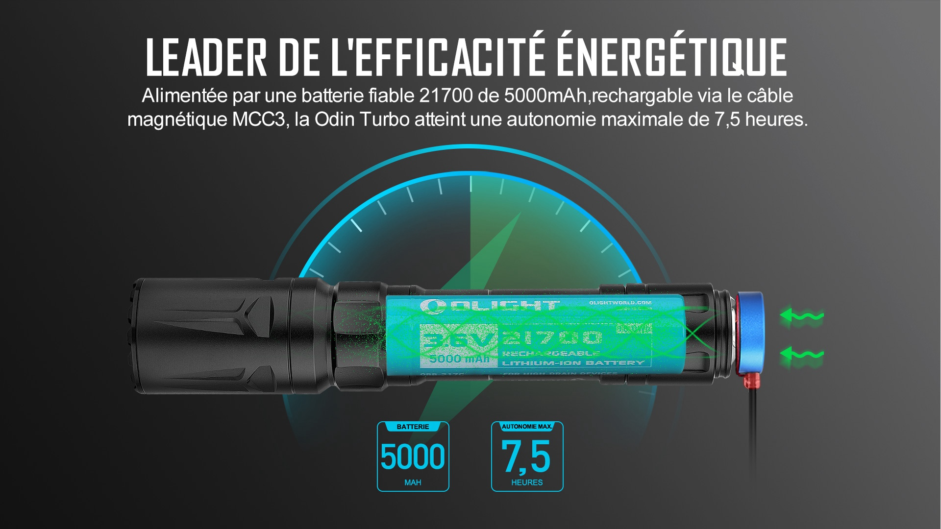 lampe torche lep rechargeable