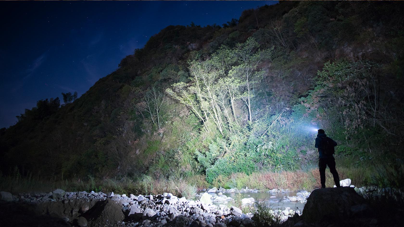 Perun lampe frontale 2000 lumens