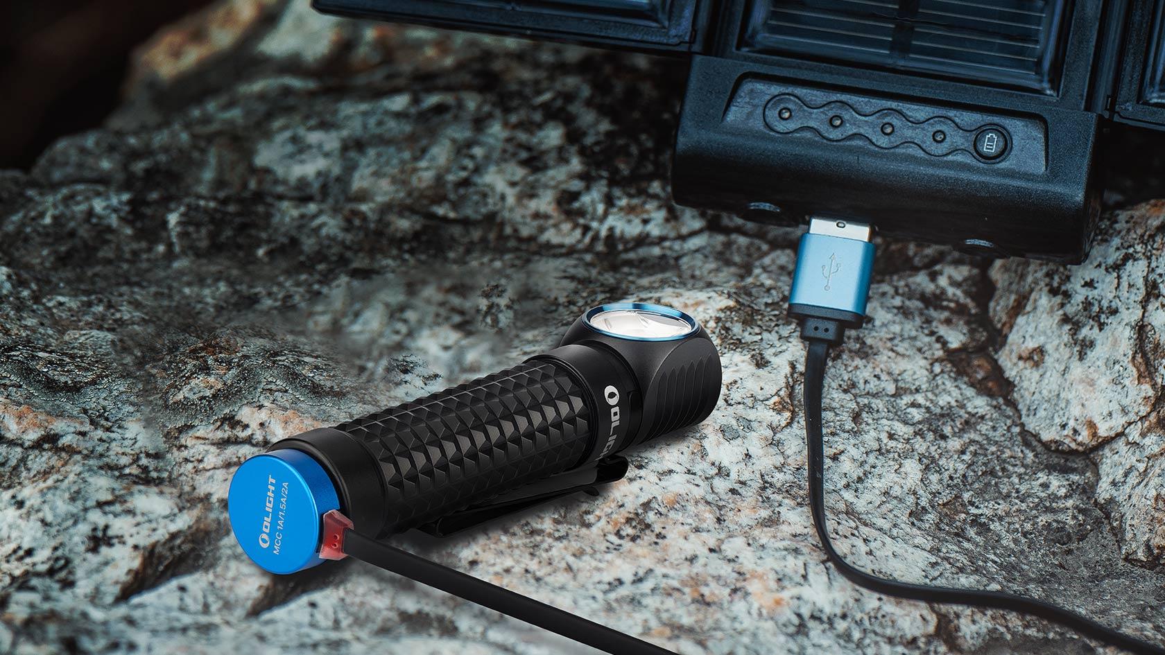 lampe torche frontale magnétique rechargeable MCC