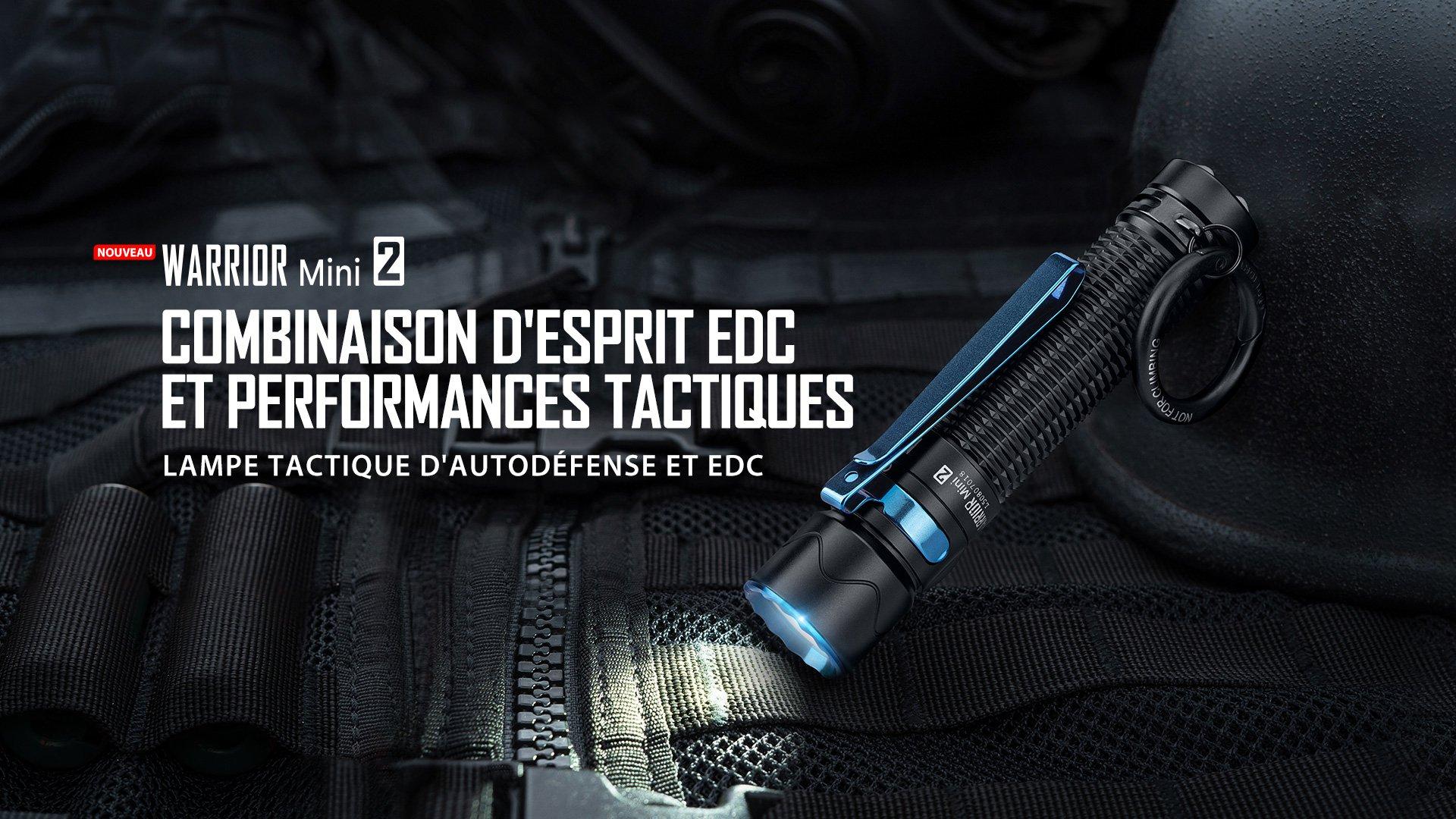 Warrior Mini 2 lampe torche autodéfense edc