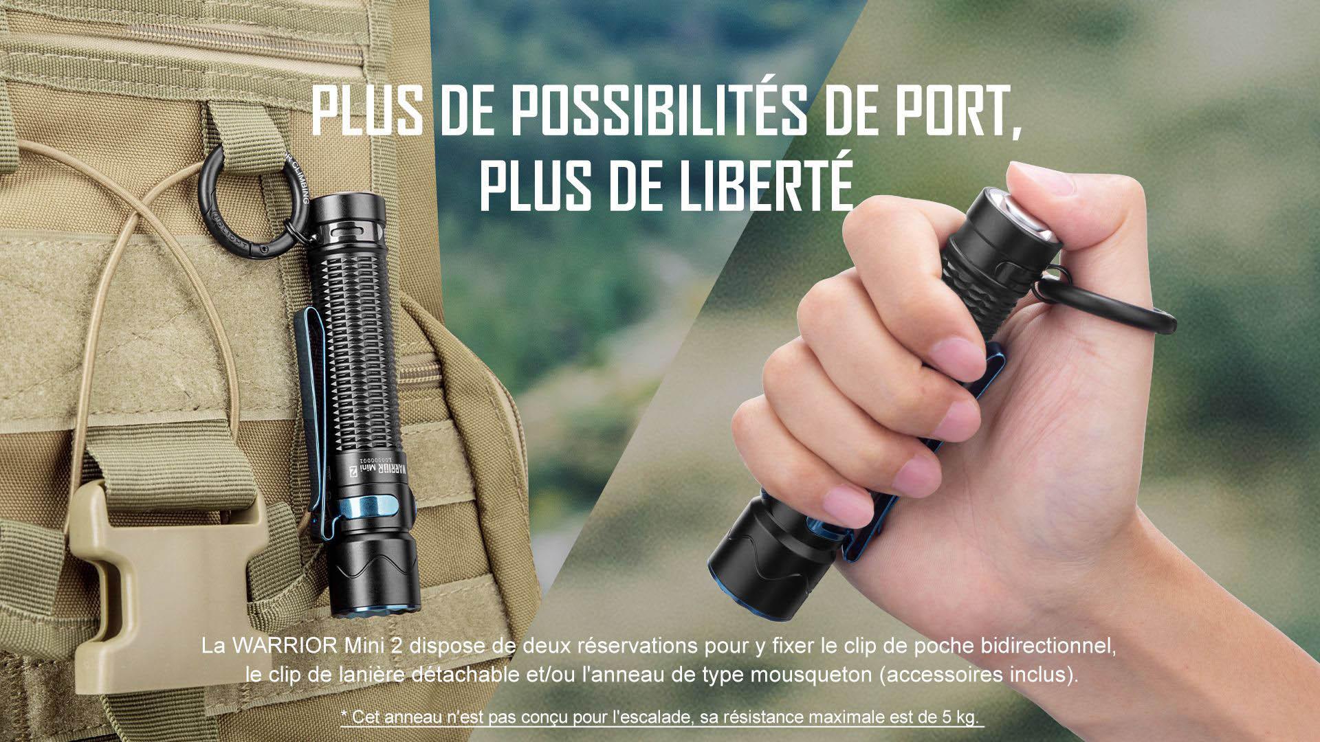 Warrior Mini 2 est plus portable