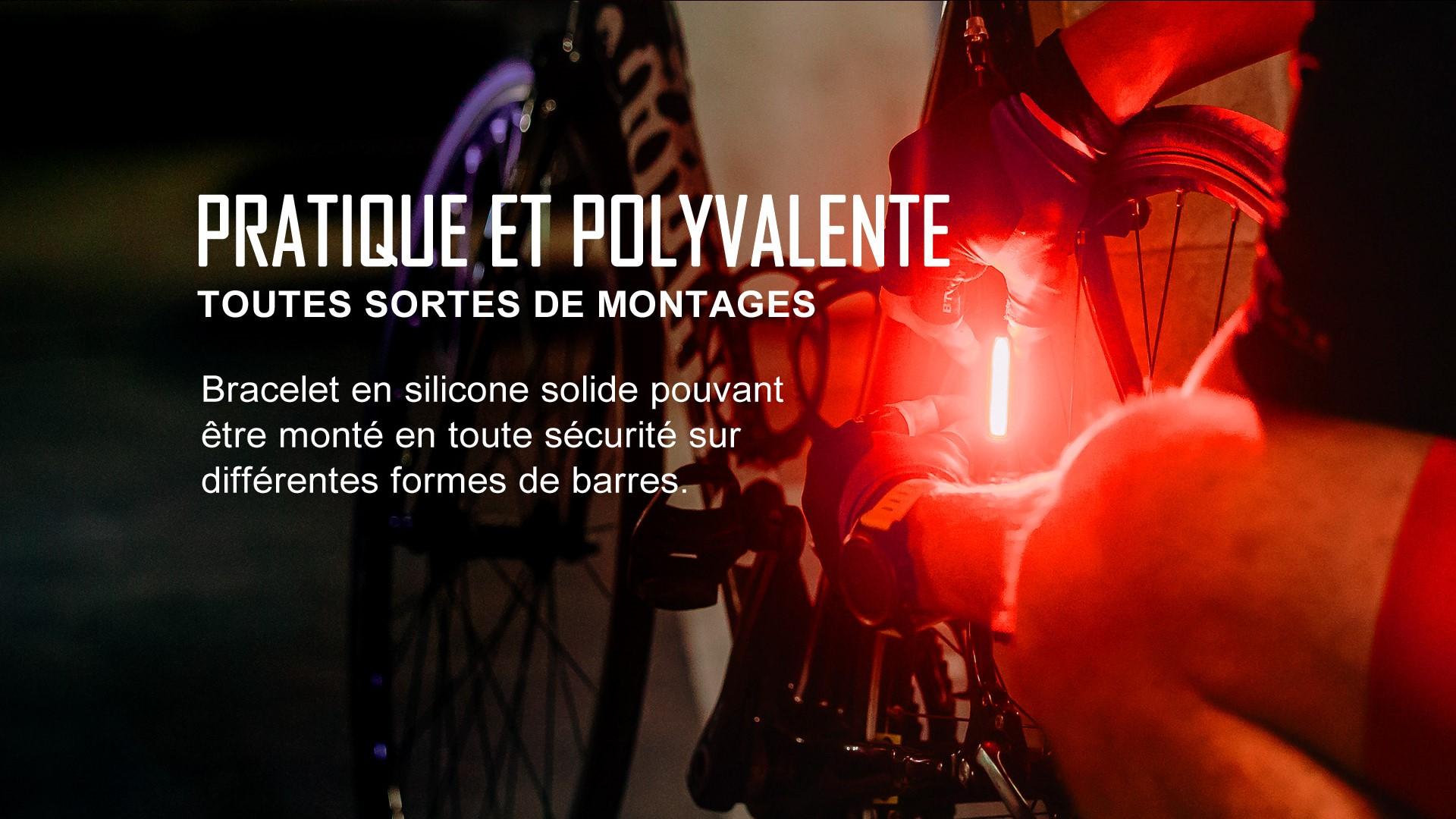 Seemee 30 TL lampe arrière vélo multifonctionnelle